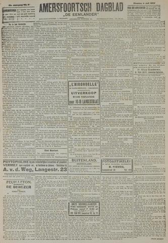 Amersfoortsch Dagblad / De Eemlander 1922-07-04
