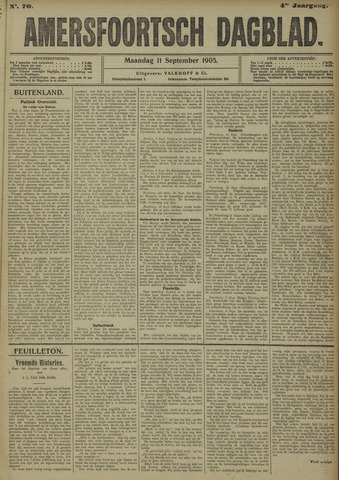 Amersfoortsch Dagblad 1905-09-11