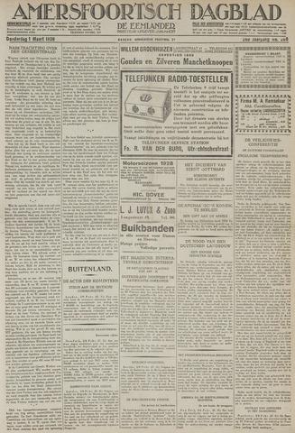 Amersfoortsch Dagblad / De Eemlander 1928-03-01