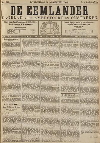 De Eemlander 1908-11-26