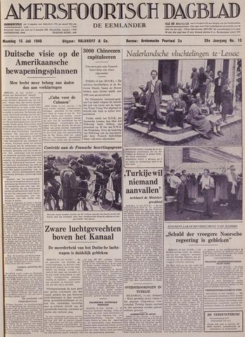 Amersfoortsch Dagblad / De Eemlander 1940-07-15