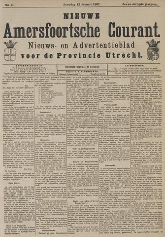 Nieuwe Amersfoortsche Courant 1907-01-12
