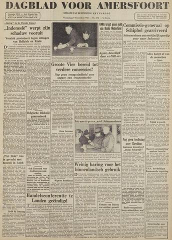Dagblad voor Amersfoort 1946-11-27