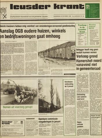 Leusder Krant 1984-12-20