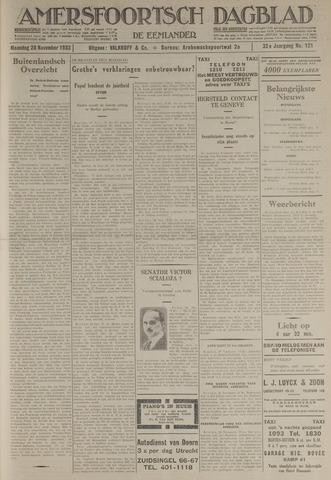 Amersfoortsch Dagblad / De Eemlander 1933-11-20