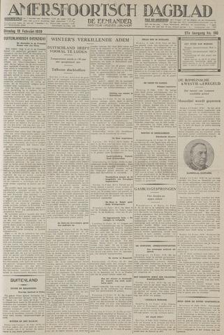 Amersfoortsch Dagblad / De Eemlander 1929-02-12