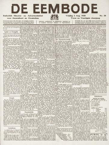 De Eembode 1928-08-03