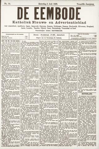 De Eembode 1898-07-02