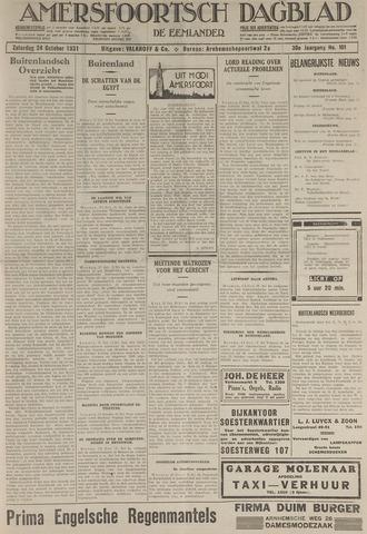 Amersfoortsch Dagblad / De Eemlander 1931-10-24