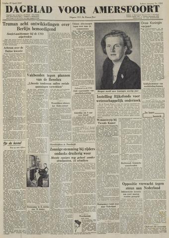 Dagblad voor Amersfoort 1949-04-29
