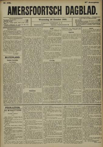 Amersfoortsch Dagblad 1909-10-20