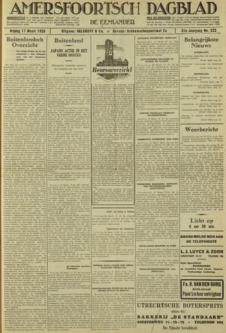 Amersfoortsch Dagblad / De Eemlander 1933-03-17