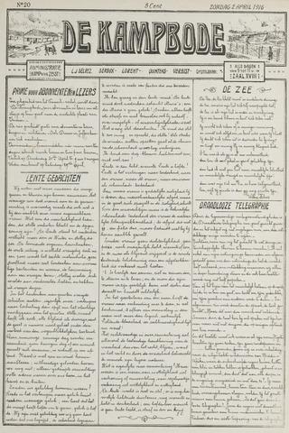 De Kampbode 1916-04-02