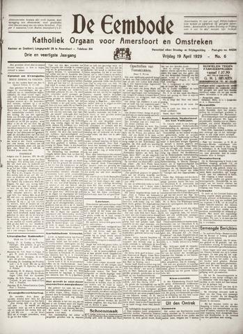 De Eembode 1929-04-19