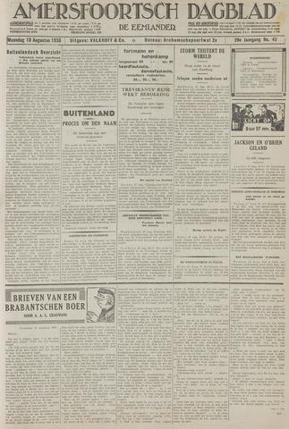 Amersfoortsch Dagblad / De Eemlander 1930-08-18