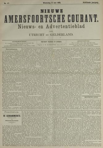 Nieuwe Amersfoortsche Courant 1889-06-12