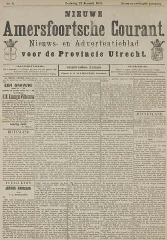 Nieuwe Amersfoortsche Courant 1898-01-29