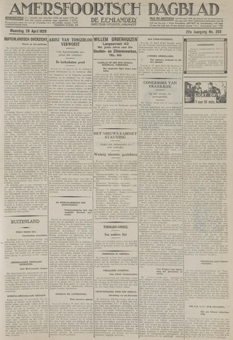 Amersfoortsch Dagblad / De Eemlander 1929-04-28