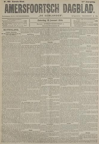 Amersfoortsch Dagblad / De Eemlander 1914-01-10