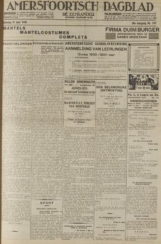 Amersfoortsch Dagblad / De Eemlander 1930-04-19