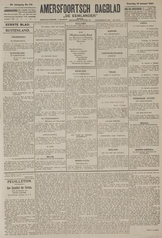 Amersfoortsch Dagblad / De Eemlander 1927-01-18