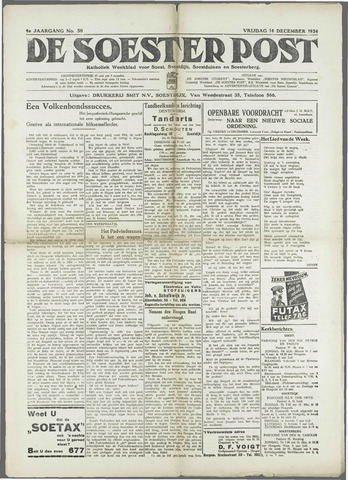 Soester Courant 1934-12-14