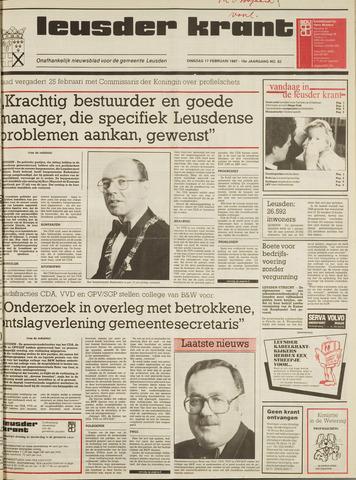 Leusder Krant 1987-02-17