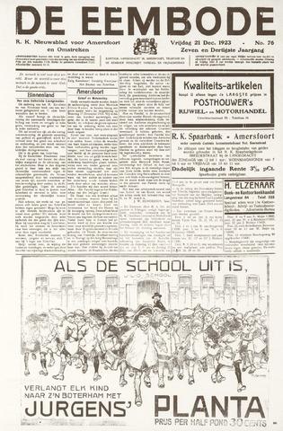 De Eembode 1923-12-21