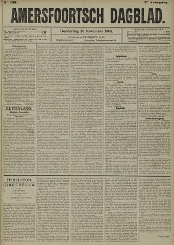 Amersfoortsch Dagblad 1908-11-26