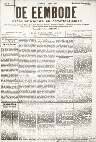 De Eembode 1899-04-01