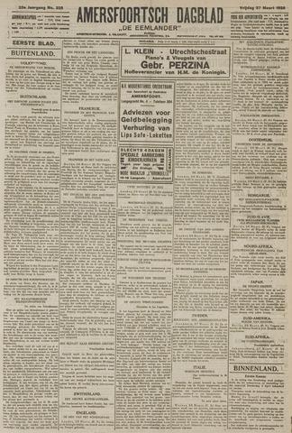 Amersfoortsch Dagblad / De Eemlander 1925-03-27