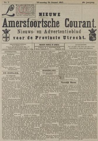 Nieuwe Amersfoortsche Courant 1917-01-24