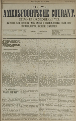 Nieuwe Amersfoortsche Courant 1883-01-24