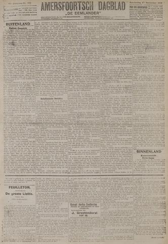 Amersfoortsch Dagblad / De Eemlander 1919-11-27