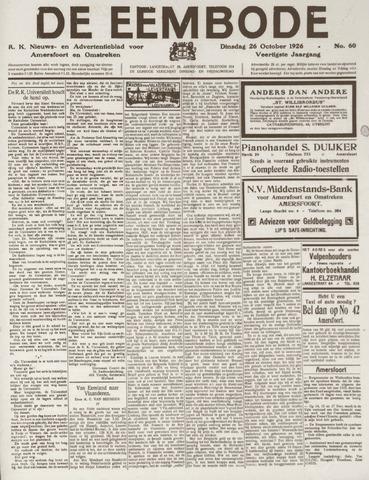 De Eembode 1926-10-26