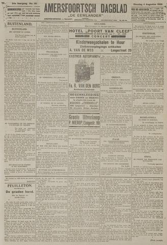 Amersfoortsch Dagblad / De Eemlander 1925-08-04