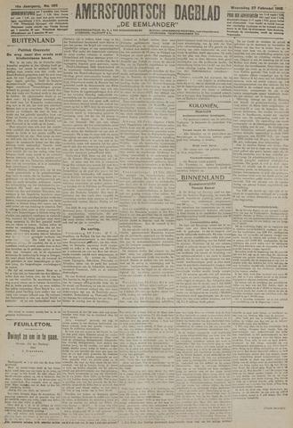 Amersfoortsch Dagblad / De Eemlander 1918-02-27
