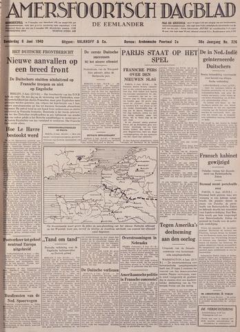 Amersfoortsch Dagblad / De Eemlander 1940-06-06