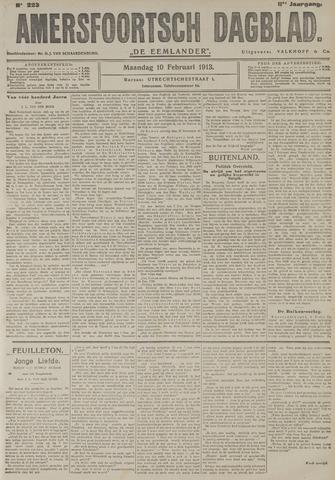 Amersfoortsch Dagblad / De Eemlander 1913-02-10