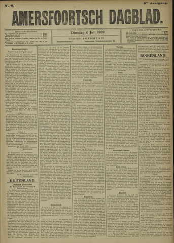 Amersfoortsch Dagblad 1909-07-06