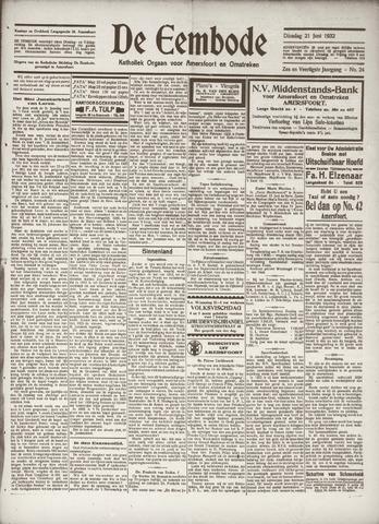 De Eembode 1932-06-21