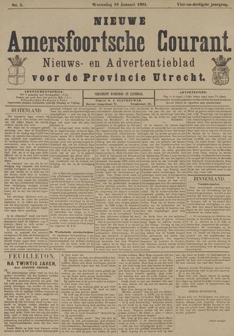 Nieuwe Amersfoortsche Courant 1905-01-18