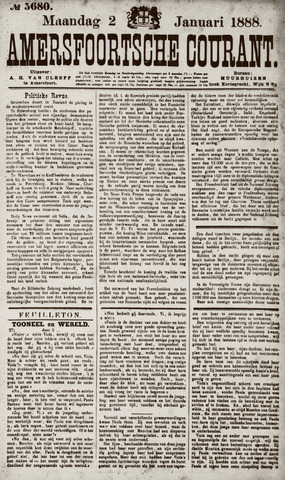 Amersfoortsche Courant 1888