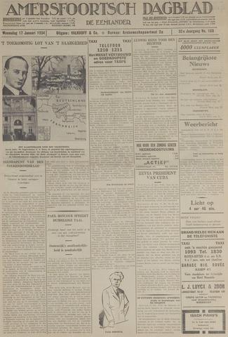 Amersfoortsch Dagblad / De Eemlander 1934-01-17