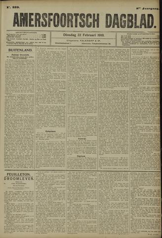 Amersfoortsch Dagblad 1910-02-22