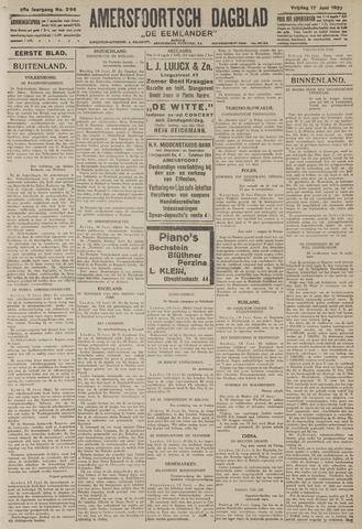 Amersfoortsch Dagblad / De Eemlander 1927-06-17