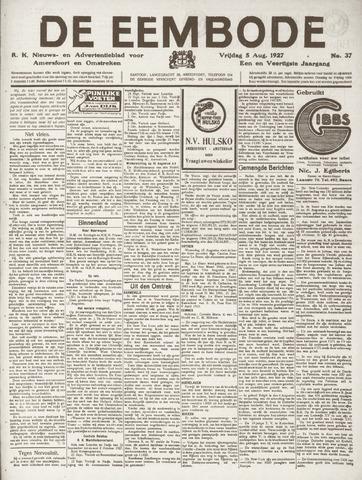 De Eembode 1927-08-05