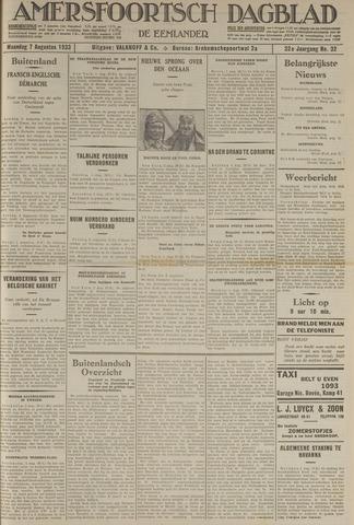 Amersfoortsch Dagblad / De Eemlander 1933-08-07