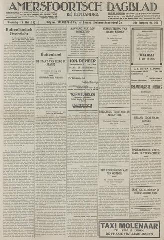 Amersfoortsch Dagblad / De Eemlander 1931-05-13