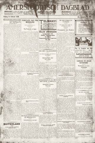 Amersfoortsch Dagblad / De Eemlander 1930-02-14